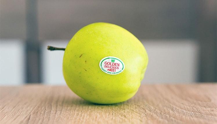 انواع لیبل انگشتی میوه